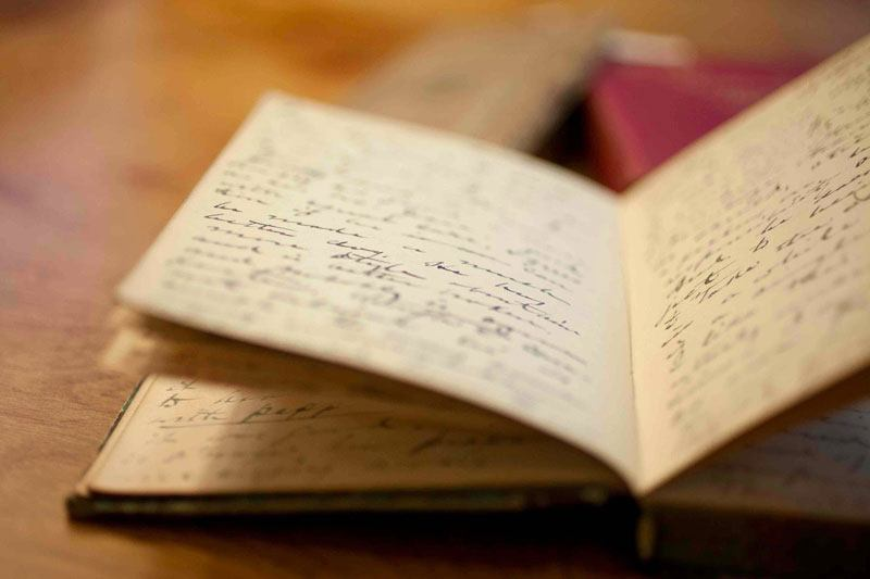 Handwritten journal